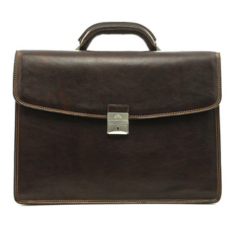 "Tuscany Triple Compartment Briefcase 16"" Computer case 