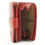 Ultimo Piccolo Wallet with I.D. and Coin Pocket | Red | Inside Vieiw