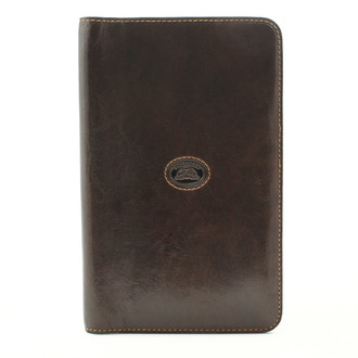 Ultimo Business Name Card Credit Card Holder Book for 72 Card | Brown Easy to Emboss