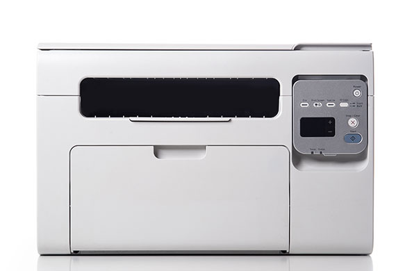 Laser printer features all in one functions to increase business efficiency in print fax scan and copy