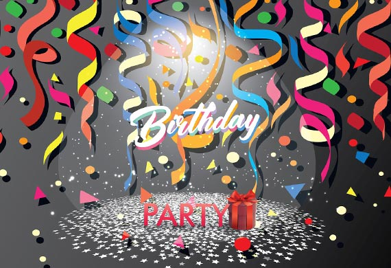 Printed surprise birthday party invitations