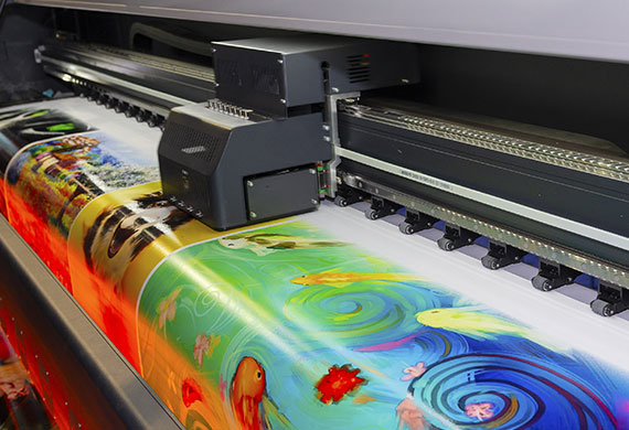 Digital large format printer vs offset printing