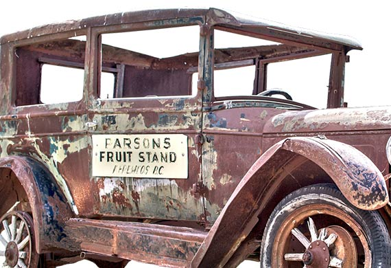Bumper sticker history includes advertising and marketing displayed on vehicles before the bumper