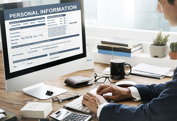 Promotional registration for online account