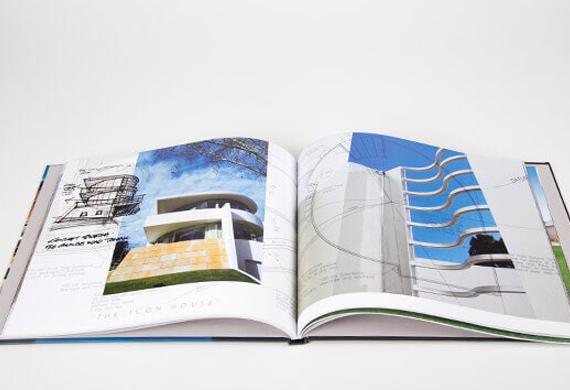 Professional portfolio booklet presentation