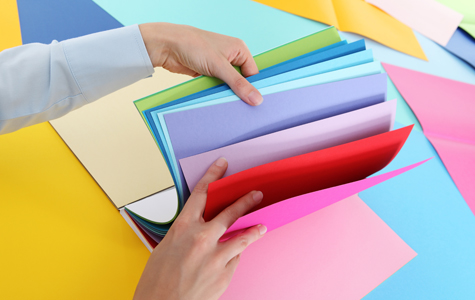 Selecting the correct paper weight for a custom printing project