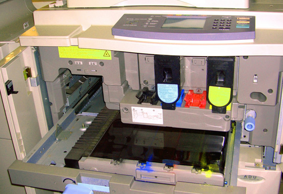 Printer history and evolution printing toner