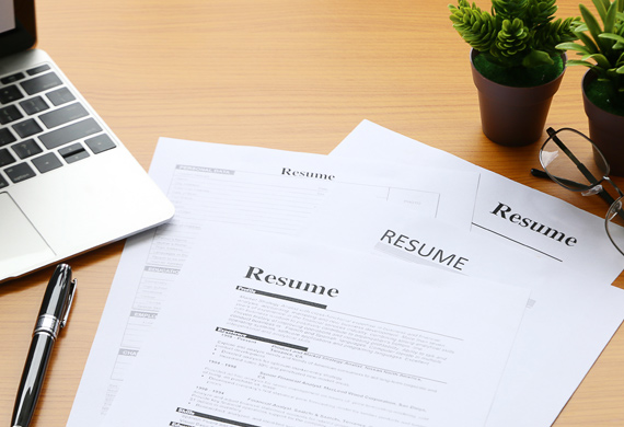 Professional resumes used to present basic qualifications