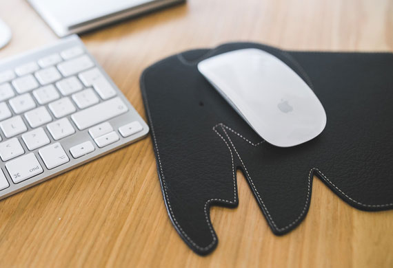 Promotional free material mouse pad