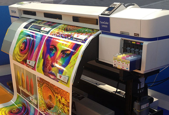 Wide format printing allows for the easy creation of banners posters wallpaper and billboards