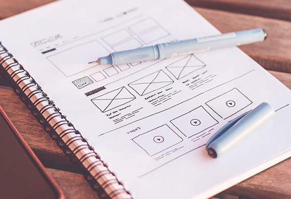 Website design variations for split AB testing