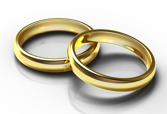 Wedding rings sizing and engraving