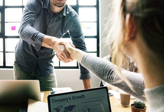 Confirming a winning business proposal