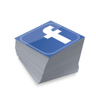 "FACEBOOK ""TAG ME CARDS"" ARE THE SURE WAY TO GET PEOPLE TO LINK UP WITH YOU ON FACEBOOK. THIS IS PRINTED ON PREMIUM CARD STOCK WITH A UV GLOSS SHINE, ROUNDED OR STANDARD CORNERS."