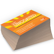 14pt Uncoated Matte Card Stock