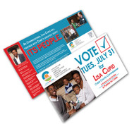 """Our full color flyers are printed cheap and fast. 5,000 Flyer printing is done In Atlanta next day printing. Also in Miami Florida full color flyers are printed the next day. In New York, California, and Chicago. Visit the """"special deal"""" section on our site for free shipping deals on cheap flyer printing done right."""
