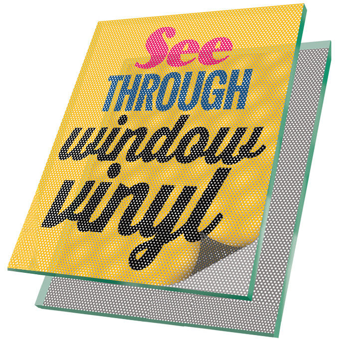 See Through Window Vinyl Clash Graphics
