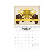 11x 8.5 - 26 Page Wall Calendar w/ Spiral Binding