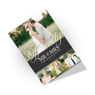 14pt Natural Greeting Cards - Full color printing on both sides.