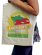 This sturdy eco-friendly 6oz cotton-canvas Tote Bag is washable, reusable and useful for anything from grocery shopping to hitting the gym.  We print full color on both sides and offer a huge print area of 9 x 13. Our Totes include dual self-fabric straps for convenient over-the-shoulder carry, leaving hands free for shopping applications. With low minimums, you can upload various custom images conveniently.