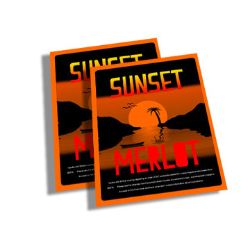 """The 3"""" x 4"""" Mini Flyer is printed same day or next day on 12pt thick card stock with UV gloss"""