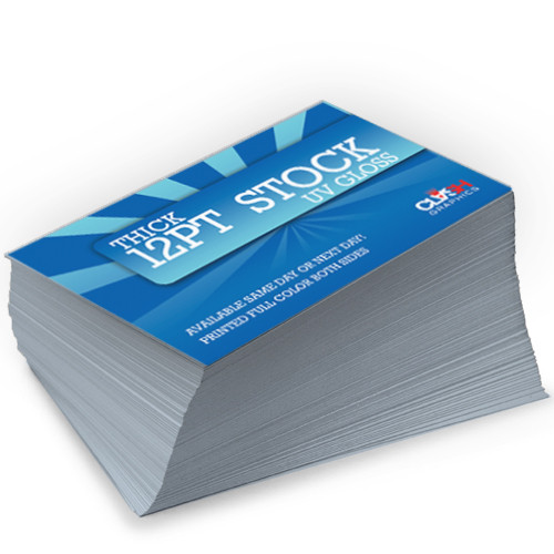 Glossy Business Cards In Atlanta - Clash Graphics