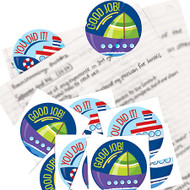 Vinyl Stickers with crack n peel backing also comes with a UV coating. Durable and intended for extended outdoor use.