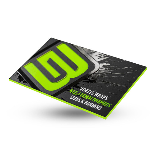 Silk Extreme Business Cards are: 34pt -- Thickness of two Silkcards 350 Full Color Full Bleed SILK Laminated on two sides Durable - Tear and Water resistant Unique - Attractive - Affordable