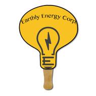 Lightbulb Hand Fan