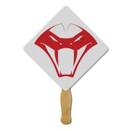 Rounded Diamond Hand Fan