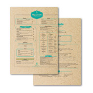 Full Page 18PT Brown Kraft Menu