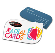 Radial Business Cards