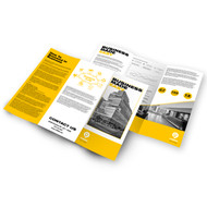 8.5x11 Economical Folded Brochures