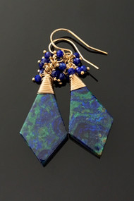 Azurmalachite Kite with Lapis