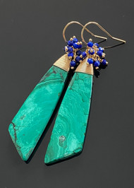 Malachite with Lapis