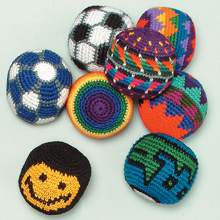 Hand Crocheted Hacky Sacks Altiplano