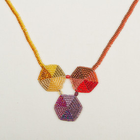 Triple Hex Necklace