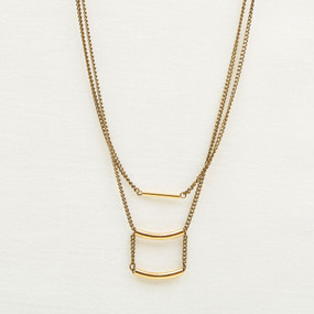 Triple Tube Necklace