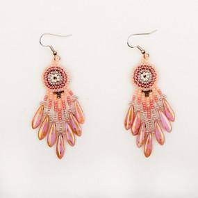 Spike Fringe Earrings