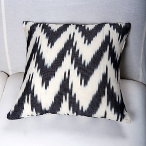 Black & White Jaspe Pillow Covers