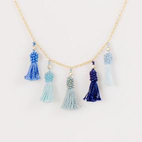 Short Tassel Necklace