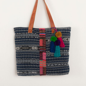 Corte Tote with Embroidery