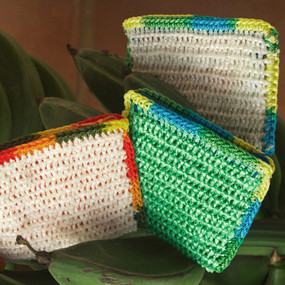 Recycled Crocheted Coin Purse