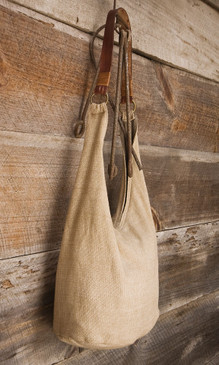 Handwoven Cotton Hobo Bag