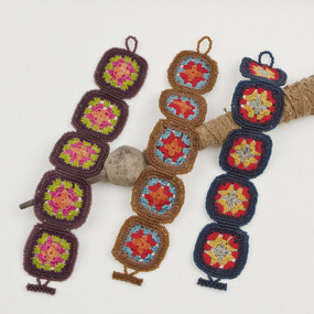Crochet & Bead Afghan Bracelet