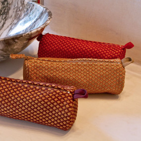 Brocade Cosmetic Bags