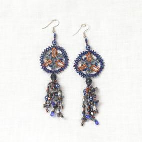 Lace Mandala Earrings