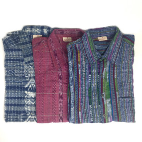 Men's Guatemalan Handwoven Shirt