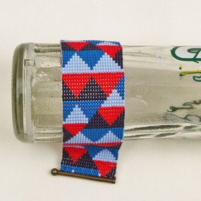 Beaded Triangles Bracelet