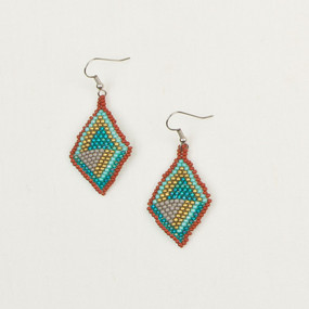 Graphic Diamond Earrings